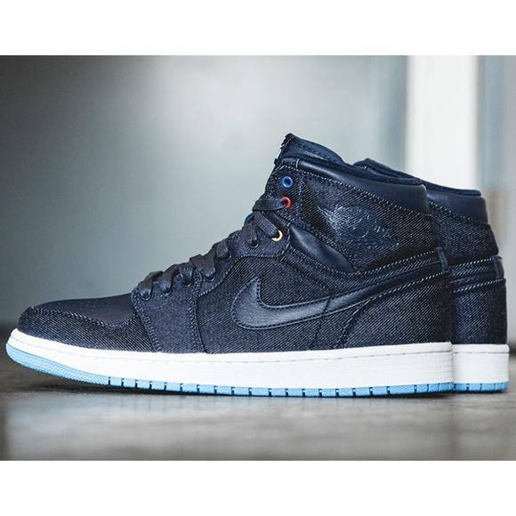Poshmark Air Jordan Nike Shoes Forever 1 Family Denim High q8464W7